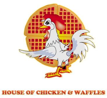 Roscoe's Chicken and Waffles in Hollywood/LA :)