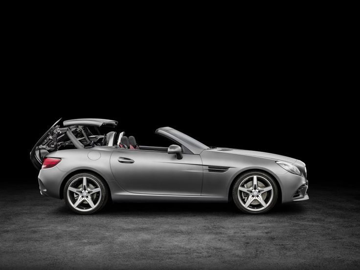 New Mercedes Slc Roadster At Detroit  Pictures
