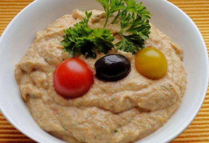 Görög padlizsánkrém recept képpel. Hozzávalók és az elkészítés részletes leírása. A görög padlizsánkrém elkészítési ideje: 50 perc