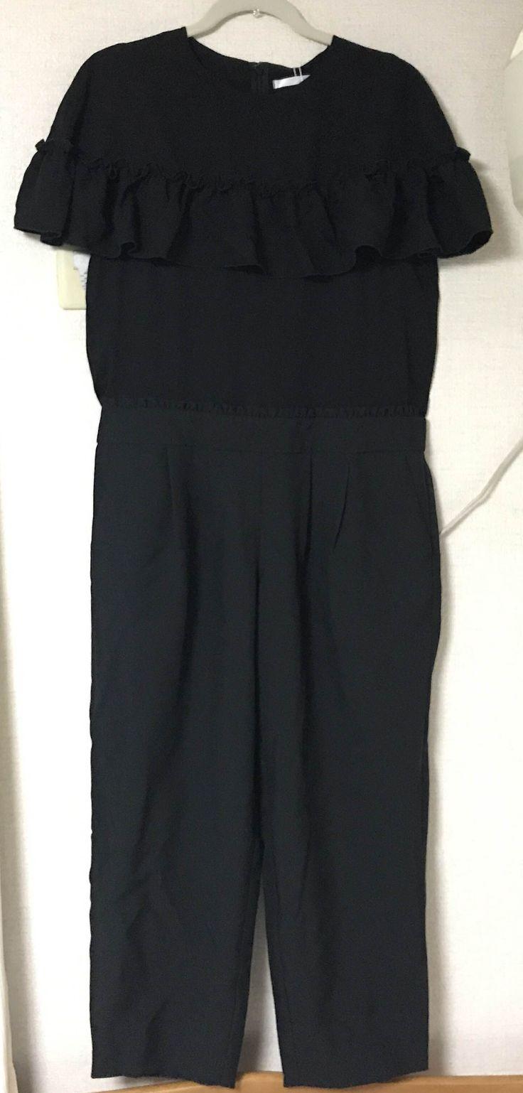 merlot メルロー 【plus】ケープフリルウエストマークオールインワン ブラック 正規店で購入しましたが、似合わなかったので出品します。 試着のみなので、新品同様です。 結婚式や二次会のドレスを探してる方もいかがでしょうか。 着用写真はサイトから引用しています。 おまけで付いてきた、今月のふろく(未開封)もプレゼントします。 サイズはLサイズです。 総丈:137cm 裄丈:43cm バスト幅:51.5cm 裾幅:21cm ウエスト幅:47cm 素材:ポリエステル 100% ※サイトより
