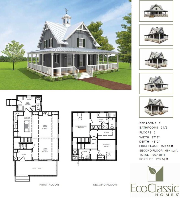 The Hudson 2 Bedroom 2 5 Bath Cottage Country Living Magazine S 2010 House Of