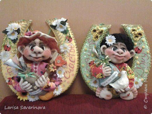 Куклы Шитьё подковка в дом Капрон фото 3