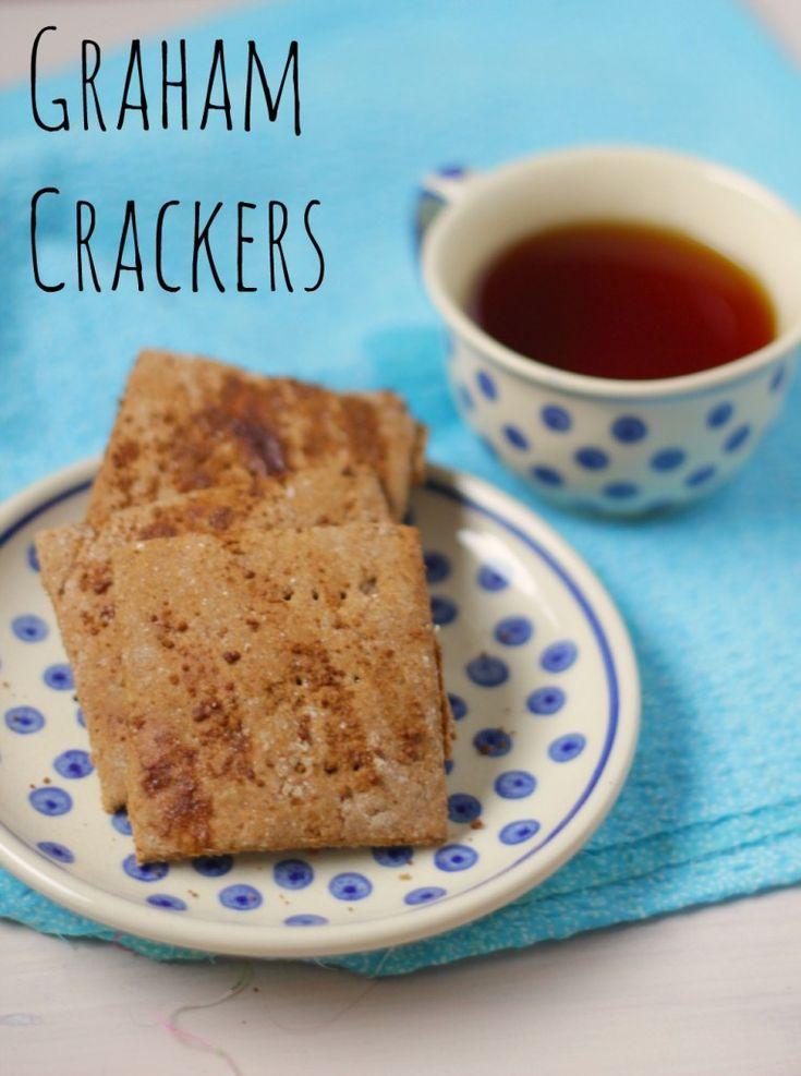 Graham Crackers, Vetvrije Volkoren Koekjes | De Bakparade
