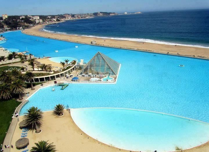 The Largest Pool in the World – San Alfonso Del Mar Resort, Chile