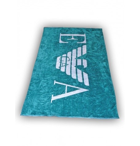 EMPORIO ARMANI         Beach / Bath Towel    1 Towel 100 -180 cm         Color: Green      100% Cotton        The item on the picture is the item you will get!