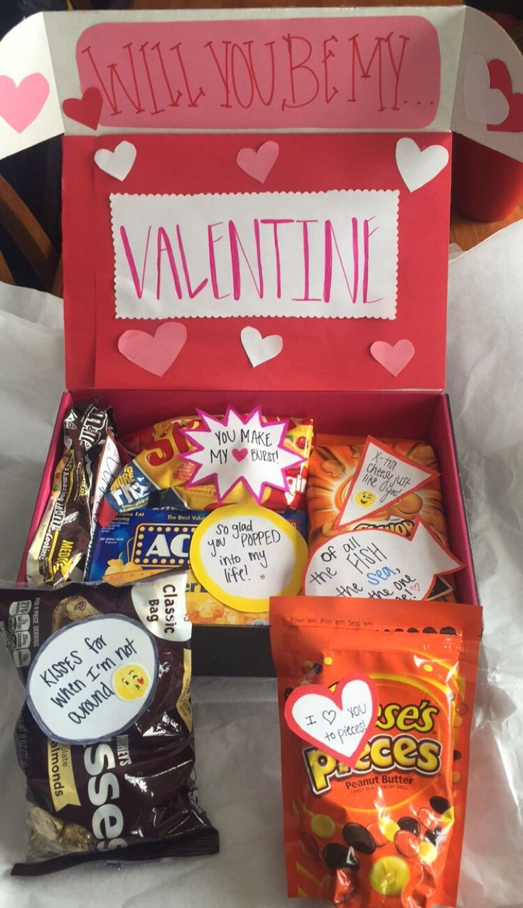 Simple DIY Valentine's Day gift for him or her