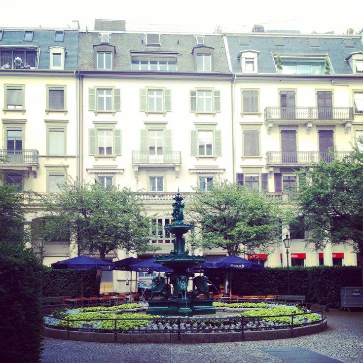 not far from Paradeplatz
