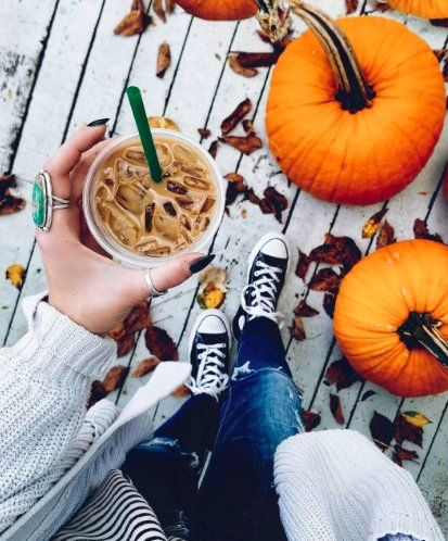 Keep the seasonal drinks coming! Enjoy your #FallFaves at #Starbucks. #GrandBlvdFL #Yum #IcedCaramelMacchiato