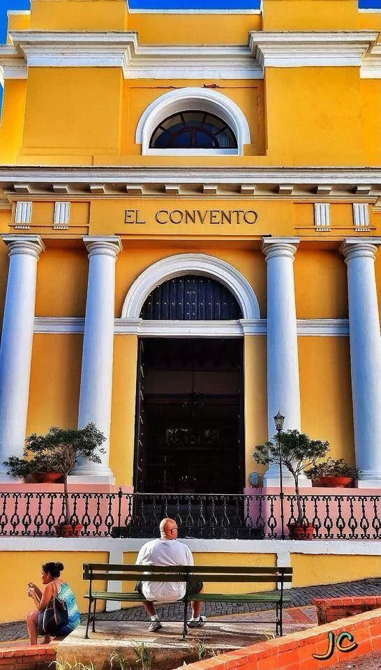 Small luxury hotel of Viejo san juan - Hotel El Convento
