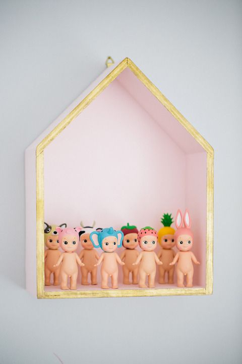 Sonny angel dolls.. Because it's good to start a collection early in life!