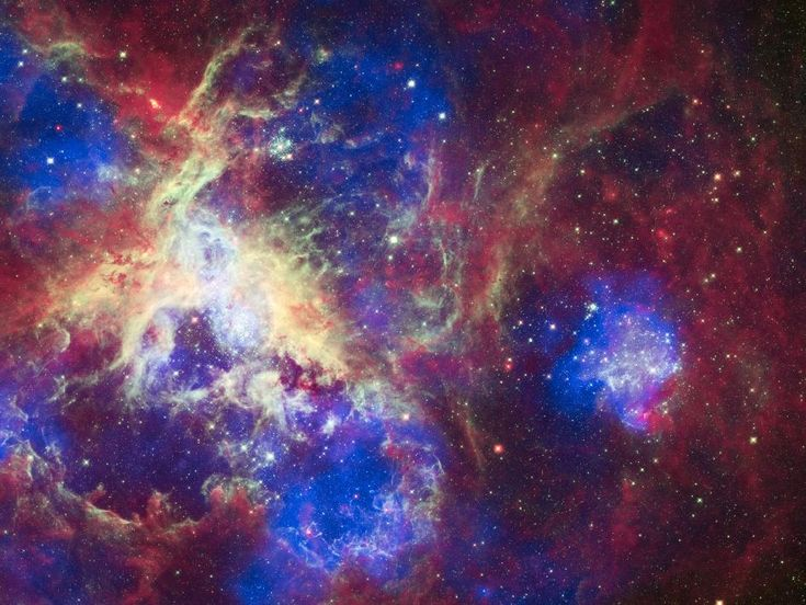 NASA - A New View of the Tarantula Nebula