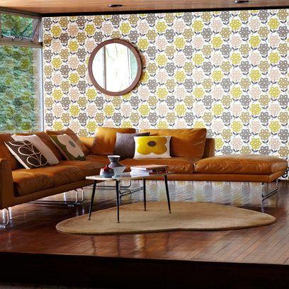 Retro Living Room Contemporary L Shaped Sofa RoomsMid Century
