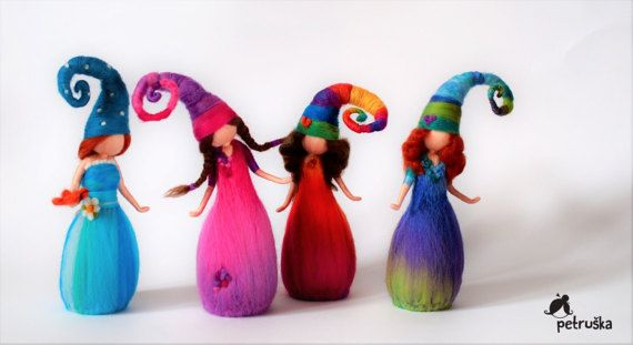 Petruska rainbow by PETRUSKAfairyworld on Etsy