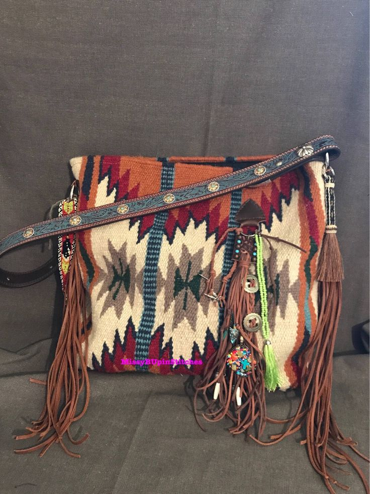 A personal favorite from my Etsy shop https://www.etsy.com/listing/522659470/saddle-blanket-purse
