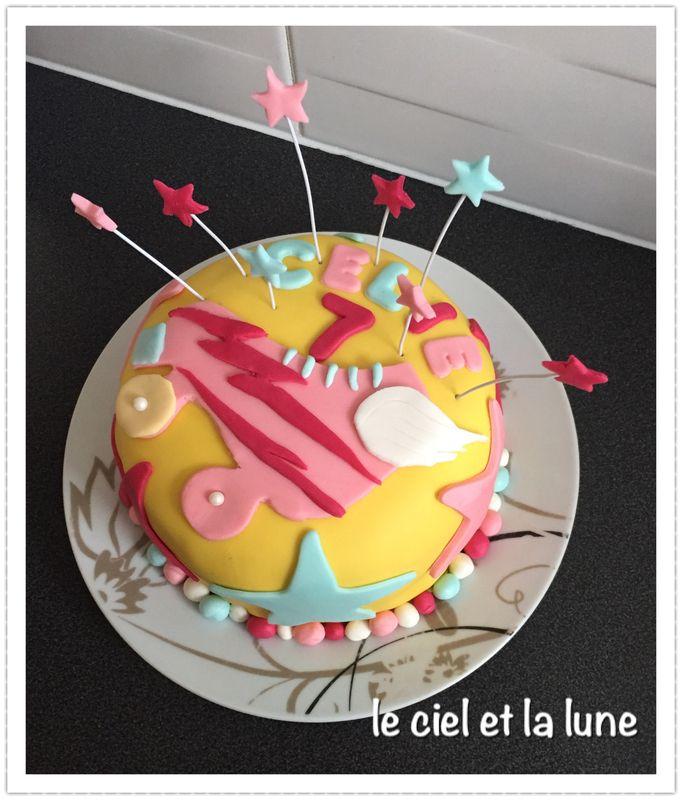 Gateau d'anniversaire Soy Luna