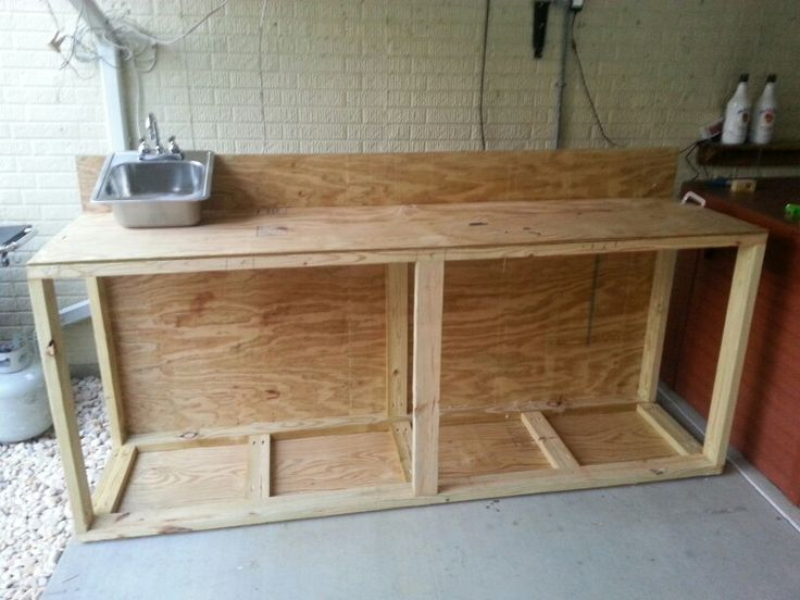 Outdoor Kitchen Bar Revision B Additional Support