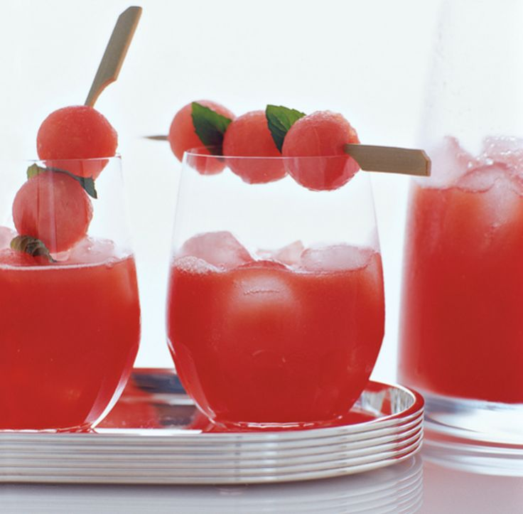 Opskrift - sangria med vandmelon | Bobedre.dk