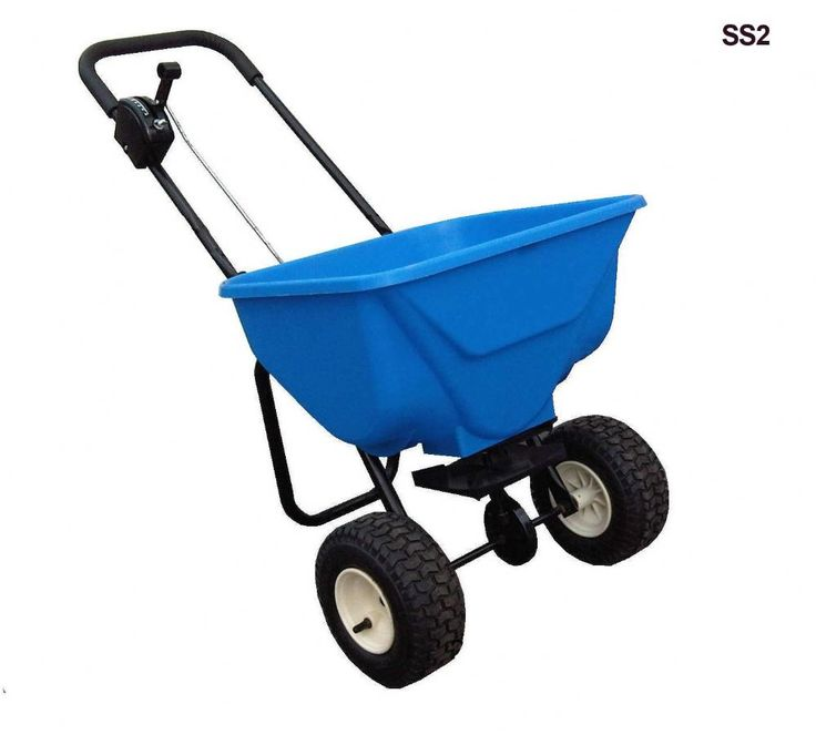 This Large Rust Proof 30kg Dry Sand, Grit And Salt Spreader Is For Melting  Ice