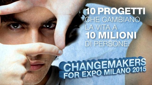 Arriva la generazione #changemakers: giovani under trenta che cambiano il mondo con idee straordinarie realizzate grazie alla rete. Oggi il lancio a Milano. #expovisions