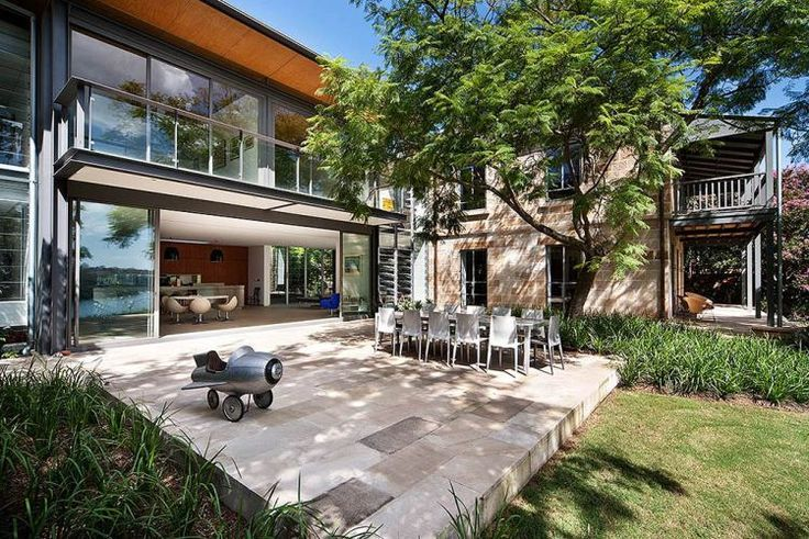 Cate Blanchett's Sydney Home Outdoor Space