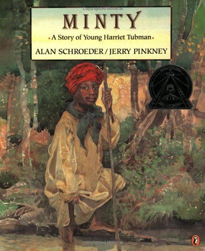 Minty: A Story of Young Harriet Tubman (Picture Puffin) by Alan Schroeder,http://www.amazon.com/dp/014056196X/ref=cm_sw_r_pi_dp_iUKqsb1PGSVCJWZE  Keywords: Harriet Tubman, slavery, Underground Railroad
