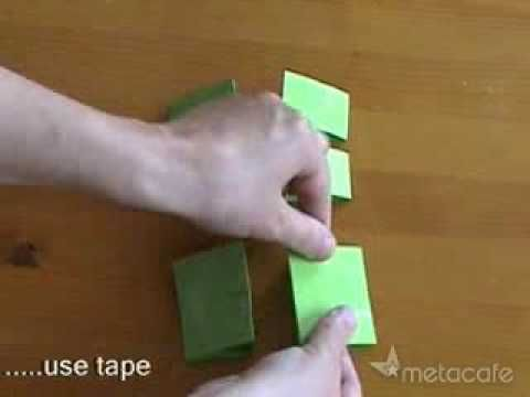 ▶ I am sure I can make a counseling lesson from this...... Unbelievable! Paper Toy Transformer Video - YouTube.  Any Ideas?