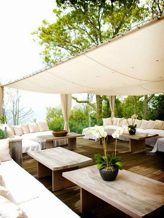 Idees to shade in outdoor areas