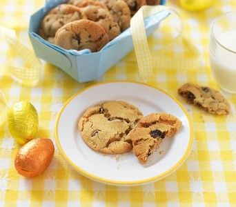 These spicy, fragrant cookies are great for an Easter tea-time treat.