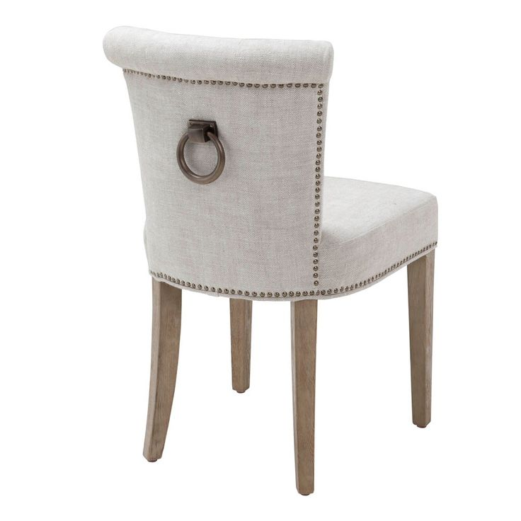 Eichholtz+Key+Largo+Chair+-+Off+White+Linen+-+Off+white+linen+Eichholtz+dining+chair+with+brass+ring+and+stud+detailing.  Complete+your+style-conscious+dining+room+interior+scheme+with+the+Eichholtz+Key+Largo+Chair+-+Off+White. A+signature+piece+from+Eichholtz,+the+Key+Largo+chair+is+now+available+in+off+white+linen+which+is+a+new+and+exciting+version+of+the+very+popular+original+Key+Largo+dining+chair. Great+for+making+a+real+statement+at+your+dinner+table,+you'll+be+looking+f...