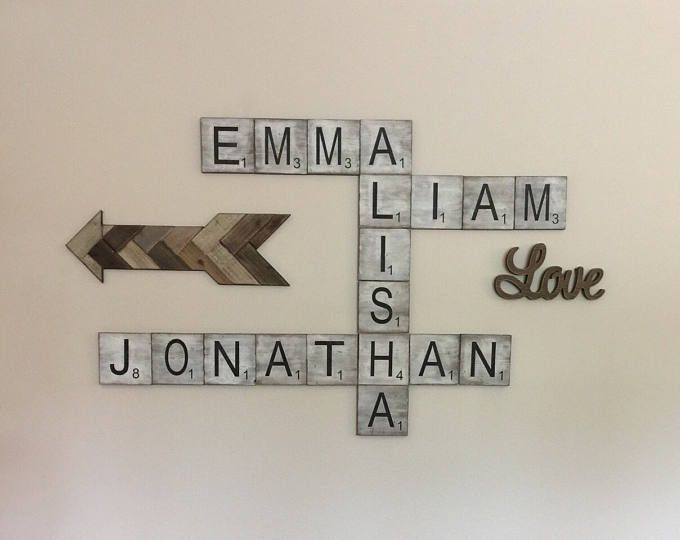Large Scrabble Tiles Decorative Best 25 Large Scrabble Letters Ideas On Pinterest  Scrabble Wall