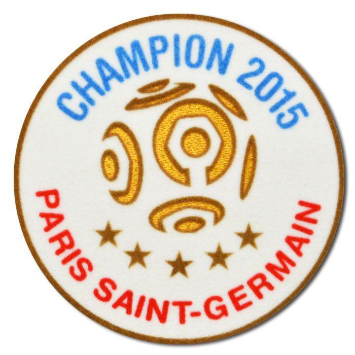パリサンジェルマン専用15/16シーズン用チャンピオンパッチ。 右袖用1枚の商品です。
