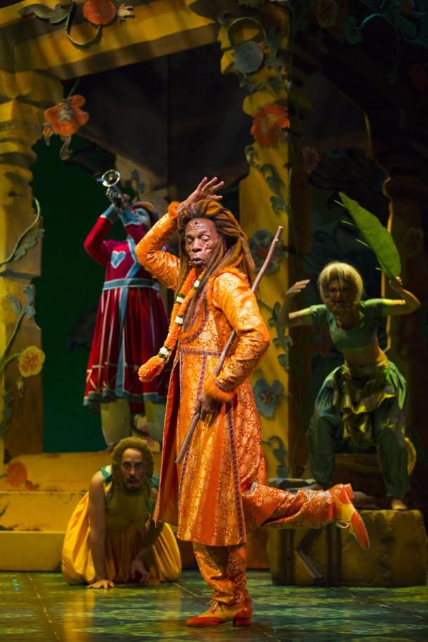 jungle book musical   Musical fusion gives 'Jungle Book' its beat - Theater-Performing ...