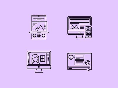 The Interface Outline Icons 25