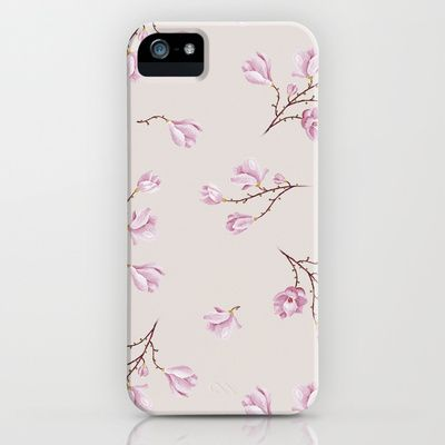 Almond's Blossoms iPhone Case by Evgenia Drouga - $35.00