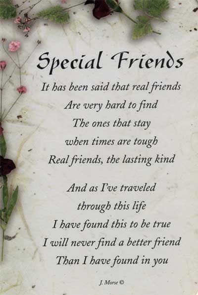 Special Friends friendship quote friend friendship quote ...