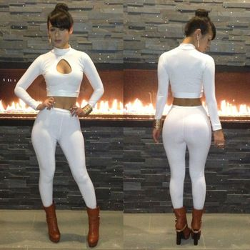 New in 2014 sale fashion spring sexy white jumpsuit women brand wears playsuit club outfits style dresses vestidos free shipping