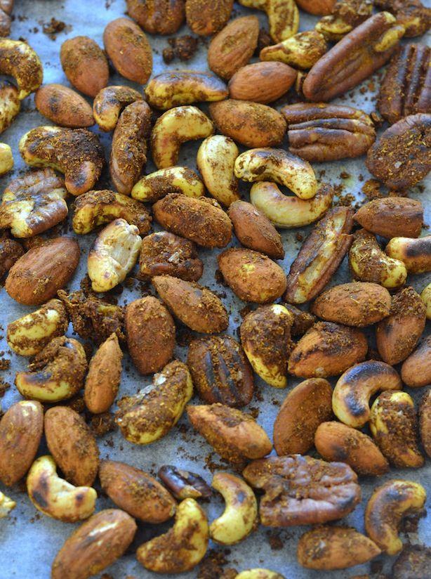 Karryristede nødder