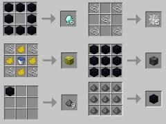 minecraft crafting recipes - Google Search