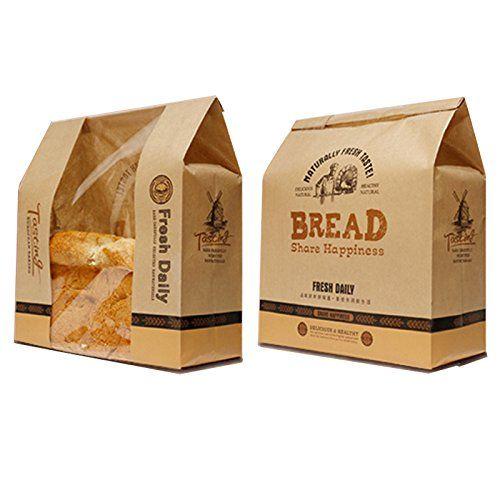 Astra shop pack of 30 kraft food packaging paper bread for Cuisine kraft