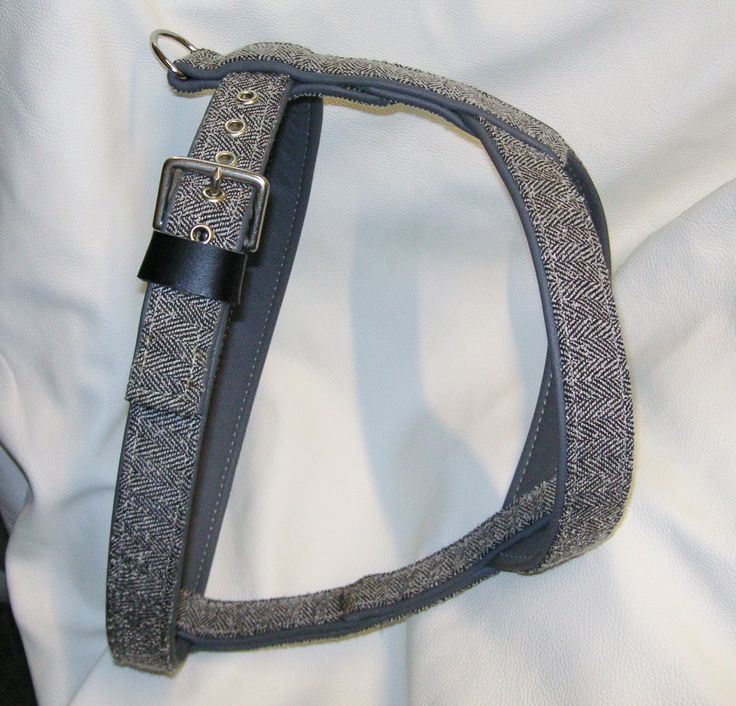 fancy a tweed & leather dog harness by www.etsy.com/uk/shop/newforestcrafts