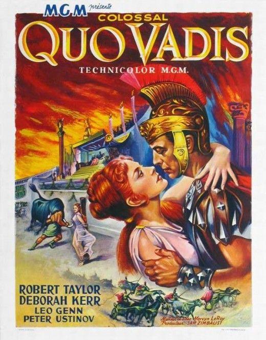 Quo Vadis (1951) Belgian poster
