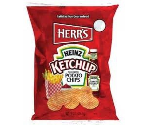 KETCHUP CHIPS ! My Canadian man loves these. But lord are they hard to find!!!!