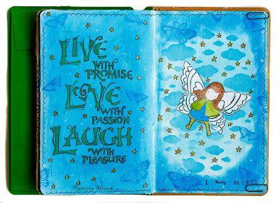 Papierowy Skrawek: Live, love, laugh...