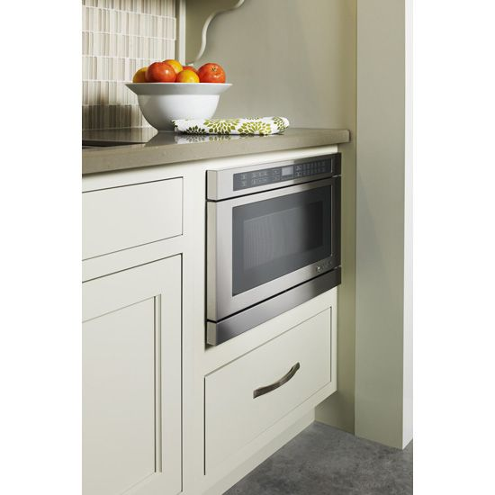 Under Counter Microwave Oven with Drawer Design, 24"