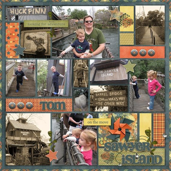 Tom Sawyer Island - Page 2 - MouseScrappers.com
