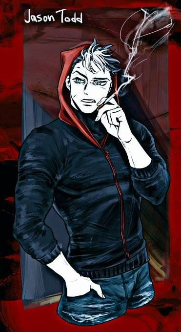 Image result for jason todd visiting his grave fanart