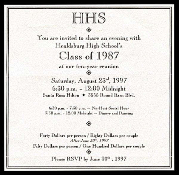9 best Class Reunion Inivitations images on Pinterest High - class reunion invitation template