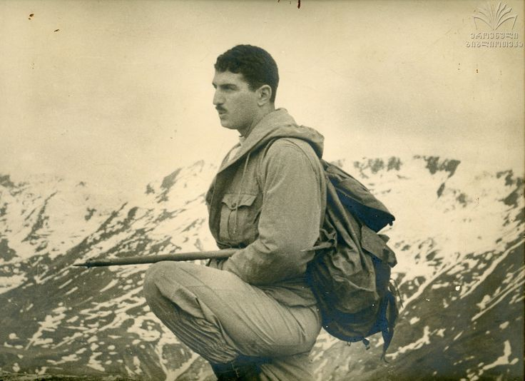 Georgian alpinist and photographer Guram Tikanadze.