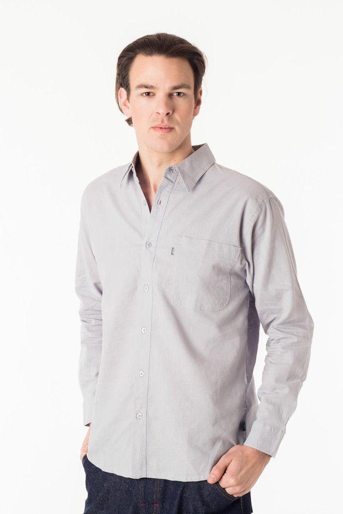 Longsleeve Dress Shirt – Hemp & Company