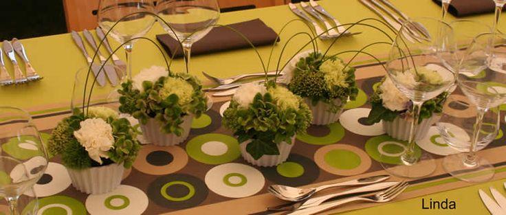 Cupcakes als tafeldecoratie voor een tuinfeest